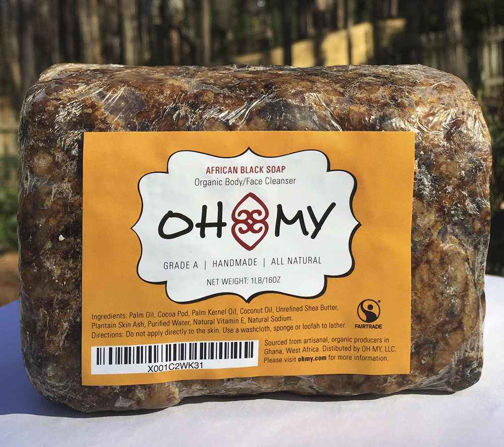 ohmy African Black soap